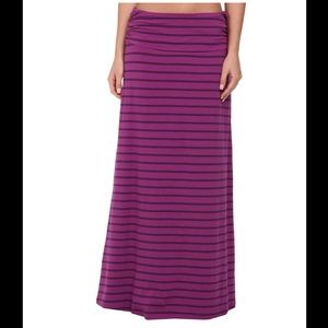 """THE NORTH FACE • """"Ava"""" A-Line Striped Maxi Skirt L"""